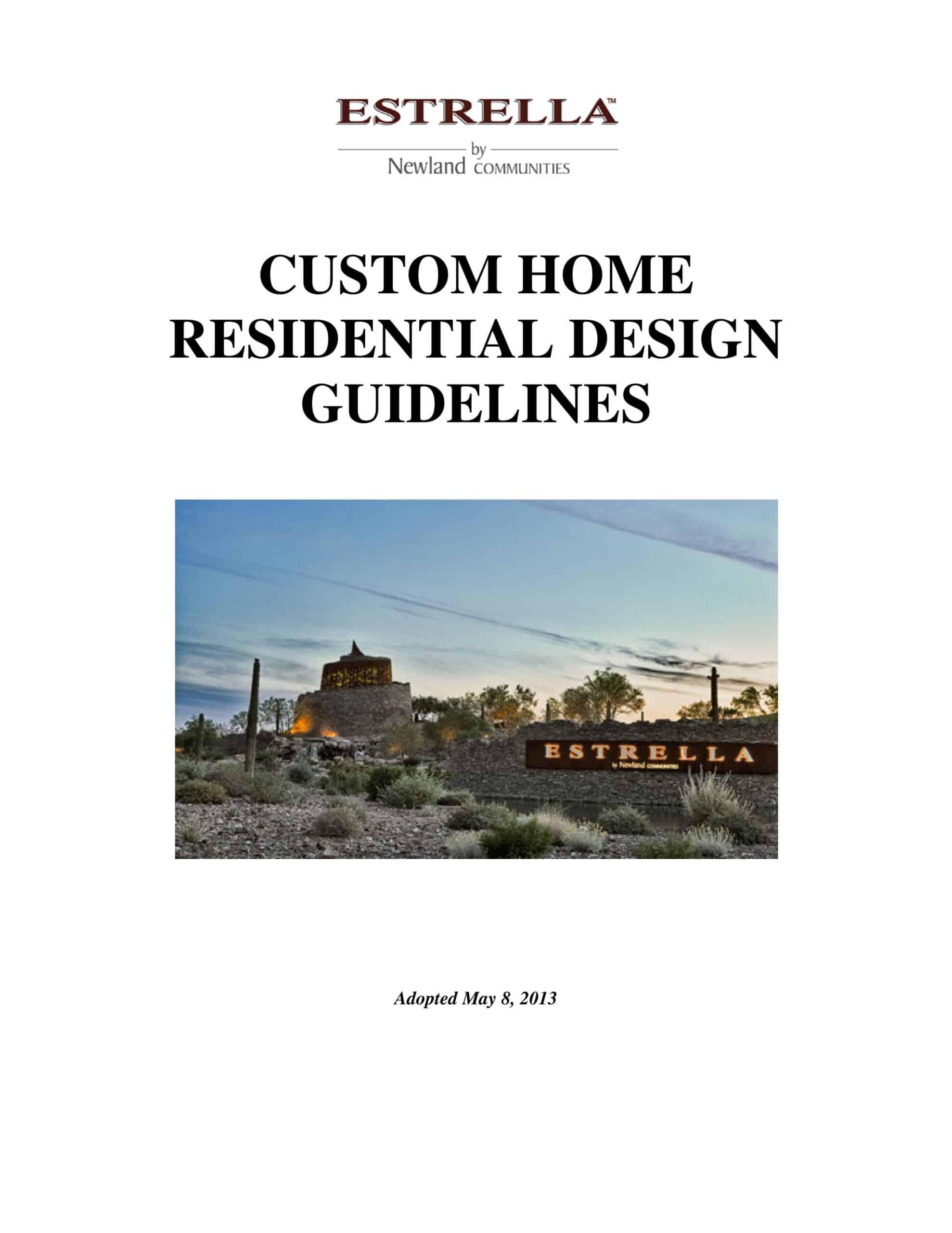 ESTRELLA MOUNTAIN CUSTOM HOME GUIDELINES-page-001