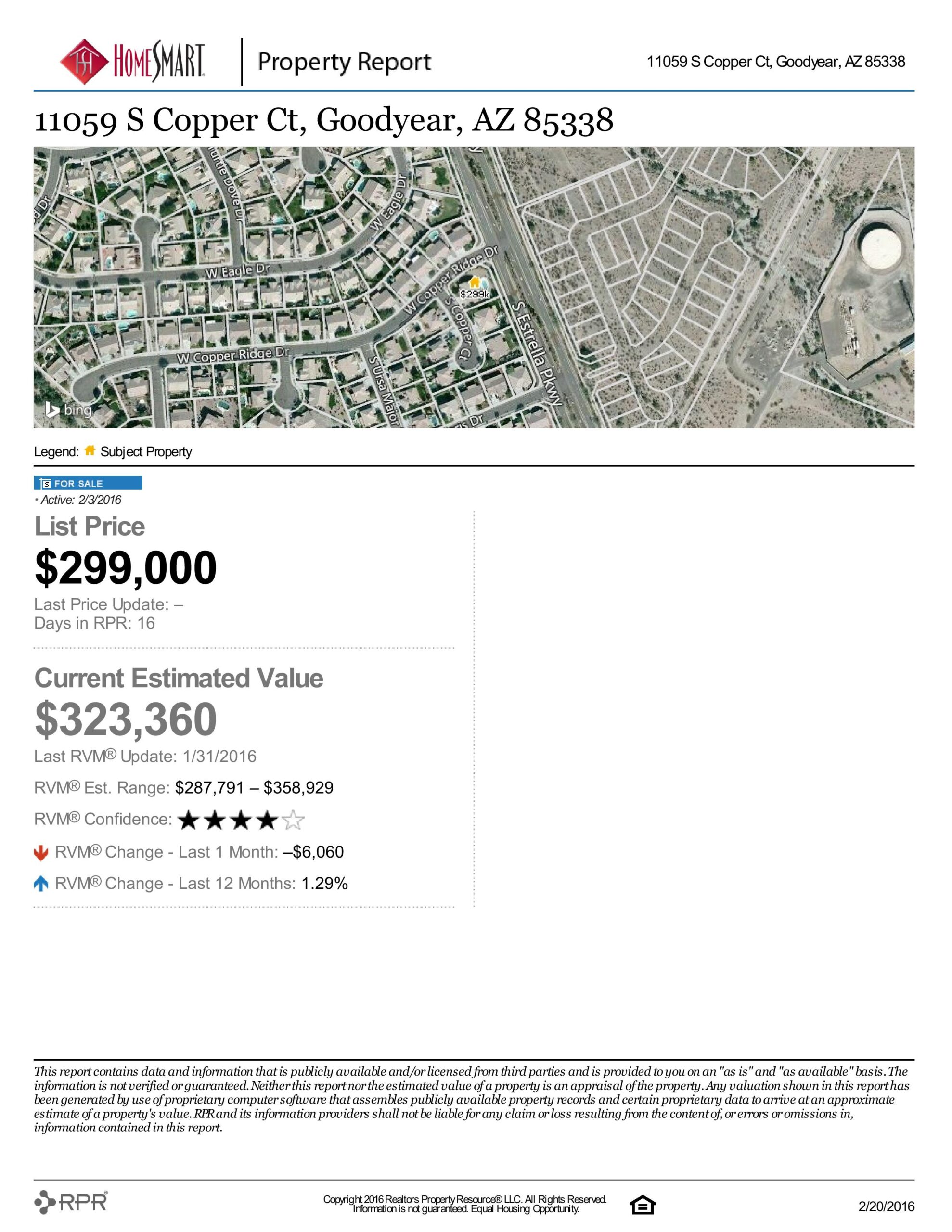 11059 S Copper Ct Location On The Map And List Price And Current Estimated Value